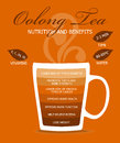 Nutrition And Benefits Oolong Tea. Royalty Free Stock Photos - 79236648