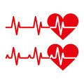 Heartbeat Icons Royalty Free Stock Image - 79254556