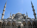 Blue Mosque Sultan Ahmed Mosque In Istanbul, Turkey Royalty Free Stock Photos - 79280728