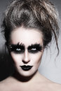 Gothic Make-up Royalty Free Stock Photos - 79292098