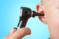 Examination With The Otoscope Stock Images - 79299854