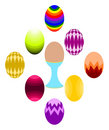 Easter Egg Set Royalty Free Stock Photo - 7936015