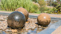 Swimming Stone Sphere Fountains Royalty Free Stock Images - 79333639
