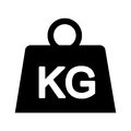 Weight Kilogram Isolated Icon Royalty Free Stock Images - 79340659
