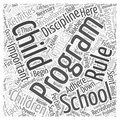 After School Programs And Discipline 212 Word Cloud Concept Vector Background Stock Photos - 79360623
