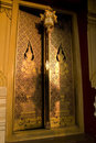 Thai Temple S Golden Doors Royalty Free Stock Images - 7948259