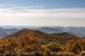 Autumn Landscape View From Brasstown Bald Mountain In Georgia Royalty Free Stock Image - 79402456