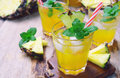 Pineapple Juice Stock Images - 79403794