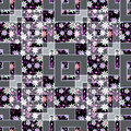 Patchwork Abstract Seamless Floral, Pattern Texture Light Background With Decorative Elements. Royalty Free Stock Photography - 79419157