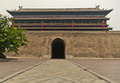 Changle Gate Xi An City Wall Royalty Free Stock Photo - 79439515