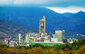 Cement Factory In Mountains. Royalty Free Stock Photos - 79475648