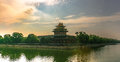 Forbidden City Turret Morning Stock Photography - 79476232