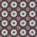 Seamless Mandala Pattern. Vintage Elements In Oriental Style. Te Royalty Free Stock Images - 79485819