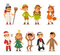 Kids Costume Vector Illustration Royalty Free Stock Photos - 79494948