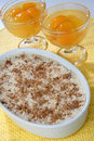 Dessert And Apricot Compote Royalty Free Stock Images - 7950529