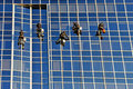 High Rise Window Washers Royalty Free Stock Photos - 7953058