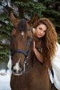 Woman On A Horse Stock Photography - 7959262