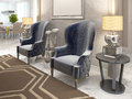 Two Luxurious Armchairs In The Style Of Art Deco. Stock Image - 79503131