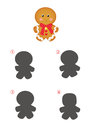 Game Of Shadows, Cookie Gingerbread Royalty Free Stock Photos - 79509098