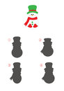 Game Of Shadows, Snowman Royalty Free Stock Image - 79509926