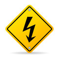 High Voltage Sign Royalty Free Stock Photos - 79515298