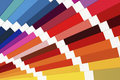 Color Palette Guide Close Up. Colorful Swatch Catalogue. Royalty Free Stock Photo - 79524705
