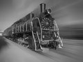 The Old Steam Locomotive Royalty Free Stock Photos - 79559118