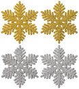 Snowflake Christmas Decoration, Xmas Decorative Snow Flake Stock Photography - 79566522