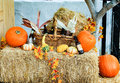 Fall Decorations At The Old Town In San Diego, California Stock Images - 79570244