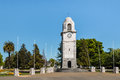 Clock Tower At Seymour Square In Blenheim Stock Photo - 79574720