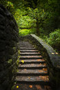 Stone Staircase In Woods Royalty Free Stock Photos - 79587998