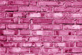 Grungy Pink Toned House Wall. Royalty Free Stock Photo - 79610675