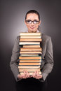 The Young Student With Book In Education Concept Royalty Free Stock Images - 79614289