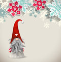 Tomte, Scandinavian Traditional Christmas Dwarf, Illustration Royalty Free Stock Image - 79646336