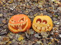 Carved Pumpkins Royalty Free Stock Photo - 79648655