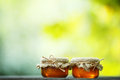 Jars Of Honey In Eco-style Stock Images - 79648864