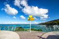 Signpost In The Stirling Point - World Distances Measured From T Stock Photography - 79673212