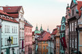 Buildings And Streets Of Prague, Czech Republic Stock Photos - 79692593