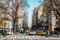 Streets And Buildings Of Upper East Site Of Manhattan, New York Royalty Free Stock Images - 79695289