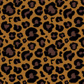 Leopard Skin Hand Drawn. Animal Print Drawing. Seamless Pattern. Vector Illustration. Stock Photos - 79767893