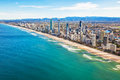 Aerial View Of Surfers Paradise, The Gold Coast, Queensland, Aus Royalty Free Stock Image - 79790396
