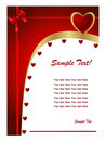 Valentine Day Card2 Royalty Free Stock Images - 7989709