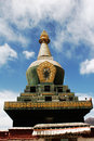 Tibetan Stupa Royalty Free Stock Photos - 7989968
