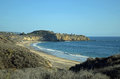View Of Crystal Cove State Park, Southern California. Stock Images - 79888464