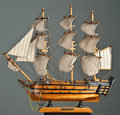 Toy Ship Royalty Free Stock Photography - 7995197