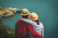 Romantic Travel - Happy Young Loving Couple On Sea Vacation Stock Image - 79905921