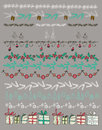 Vector Illustration. Set Of Christmas And Decorative Elements. Stock Images - 79911664