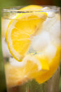 Water With  Lemon And Lot Of Ice Royalty Free Stock Images - 79913419