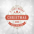 Merry Christmas Vintage Line Art Greeting Card Background Stock Photos - 79916543