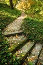 Stairs In Park Stock Photography - 79937522